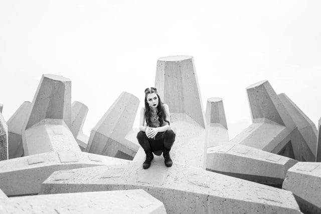 בצילום: קולקציית Black-L. של מעצבת האופנה לילך עוזי אהרוני. צילום: קרן שאוס11