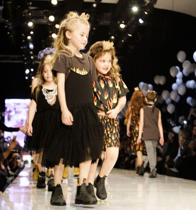 פלמינגו קיד בשבוע האופנה גינדי תל אביב 2017-2