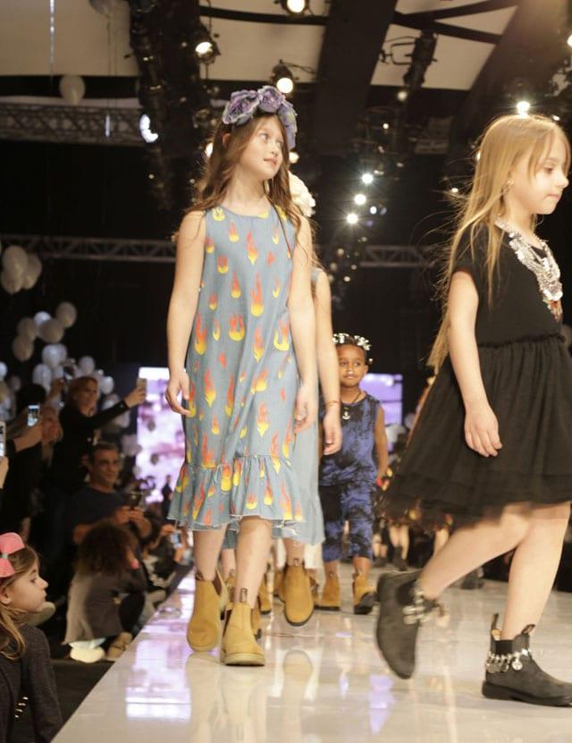 פלמינגו קיד בשבוע האופנה גינדי תל אביב 2017-