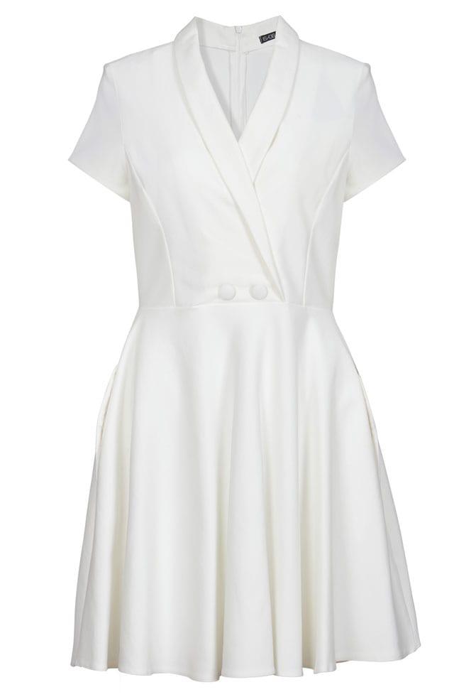 שמלה לבנה של איזבלה. 549 שקל. צילום: עדי גלעד