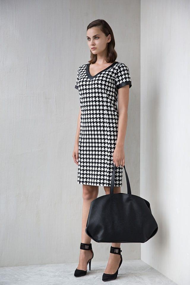 מגזין אופנה. JUMP. שמלת טוויד: 299.90 שקל. צילום: שי יחזקאל