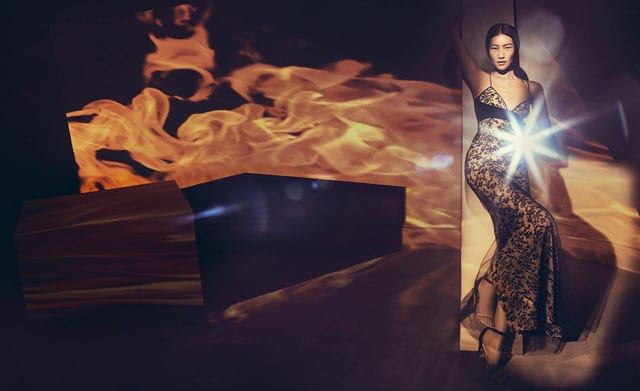 מגזין אופנה, LIBERATION-LA PERLA: קנדל ג'נר, איזבלי פונטנה, ליו וון-5