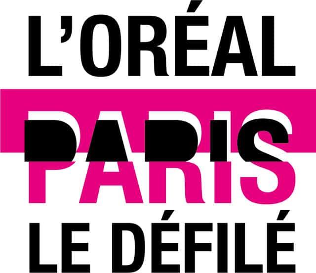LOGO LE DEFILE L'OREAL PARIS. שבוע האופנה בפריז. צילום: יח״צ חו״ל