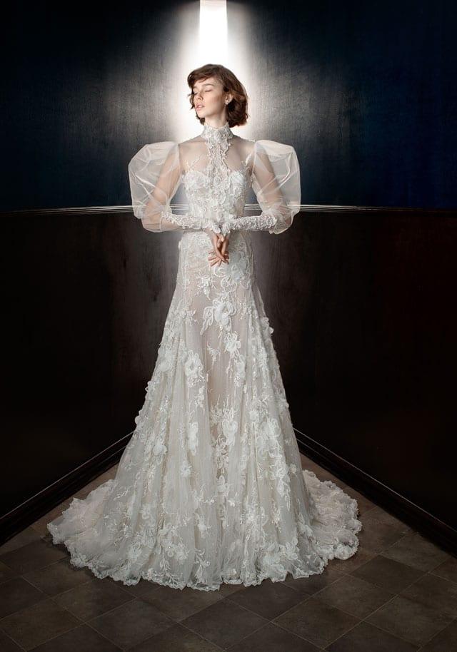 בצילום: שמלת כלה של גליה להב. 2017-18. צילום: יח״צ -33