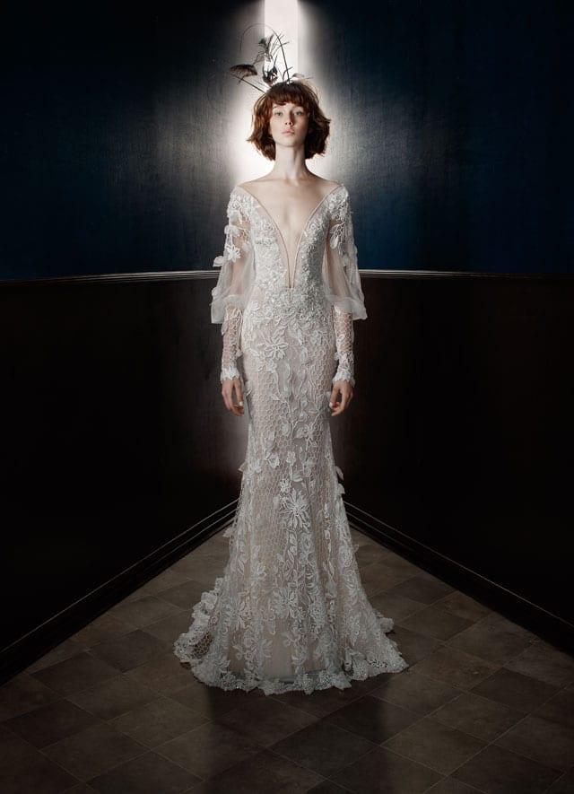 בצילום: שמלת כלה של גליה להב. 2017-18. צילום: יח״צ -6