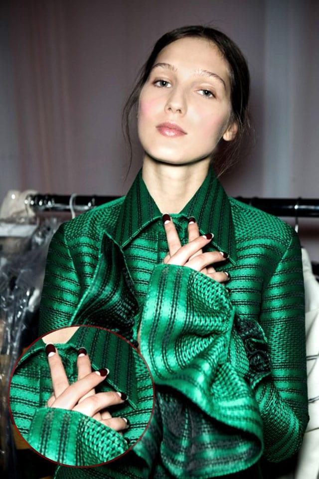 מגזין אופנה, ארגמן בפרנץ' כפול6