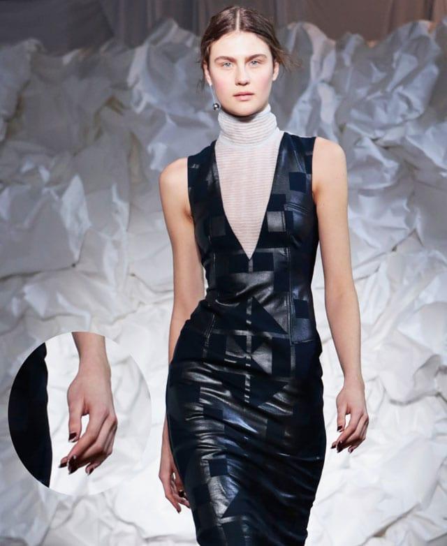 מגזין אופנה, ארגמן בפרנץ' כפול3