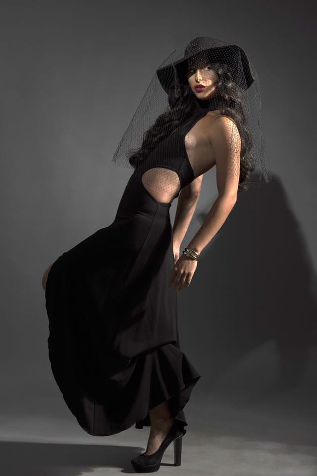 שמלה: לוני וינטג׳, צמיד וינטג': שרון סטאר, כובע: כיסופים -6
