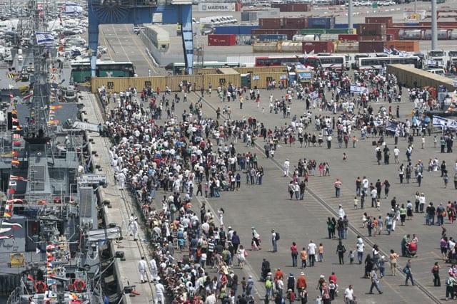 חגיגות עצמאות בנמל אשדוד