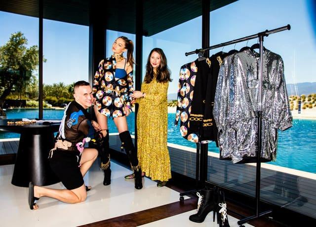 Efifo, מגזין אופנה ישראלי - MOSCHINO [tv] H&M. צילום: הנס מוריץ