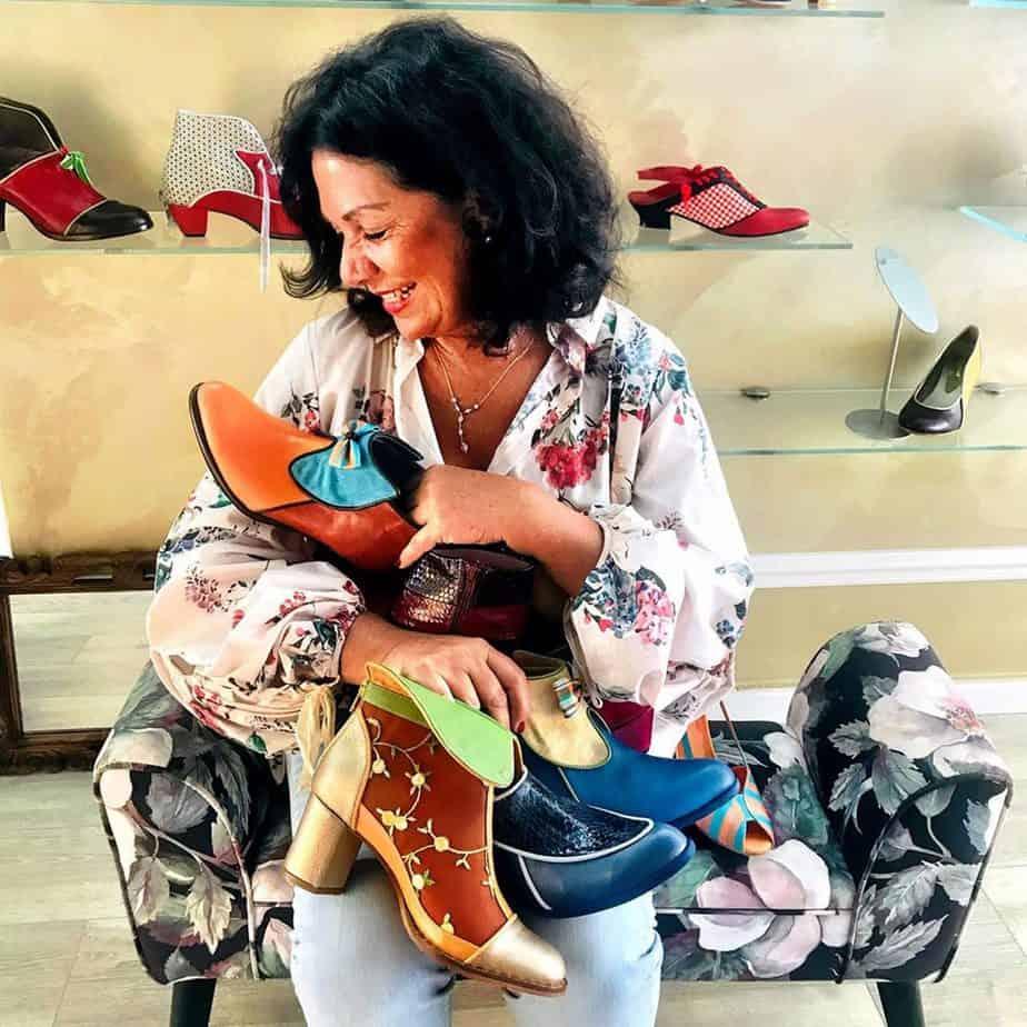 נעליים של מיקה דרימר. בתמונה Mika Drimer - Artistic Shoes. צילום: מיקה דרימר - 6