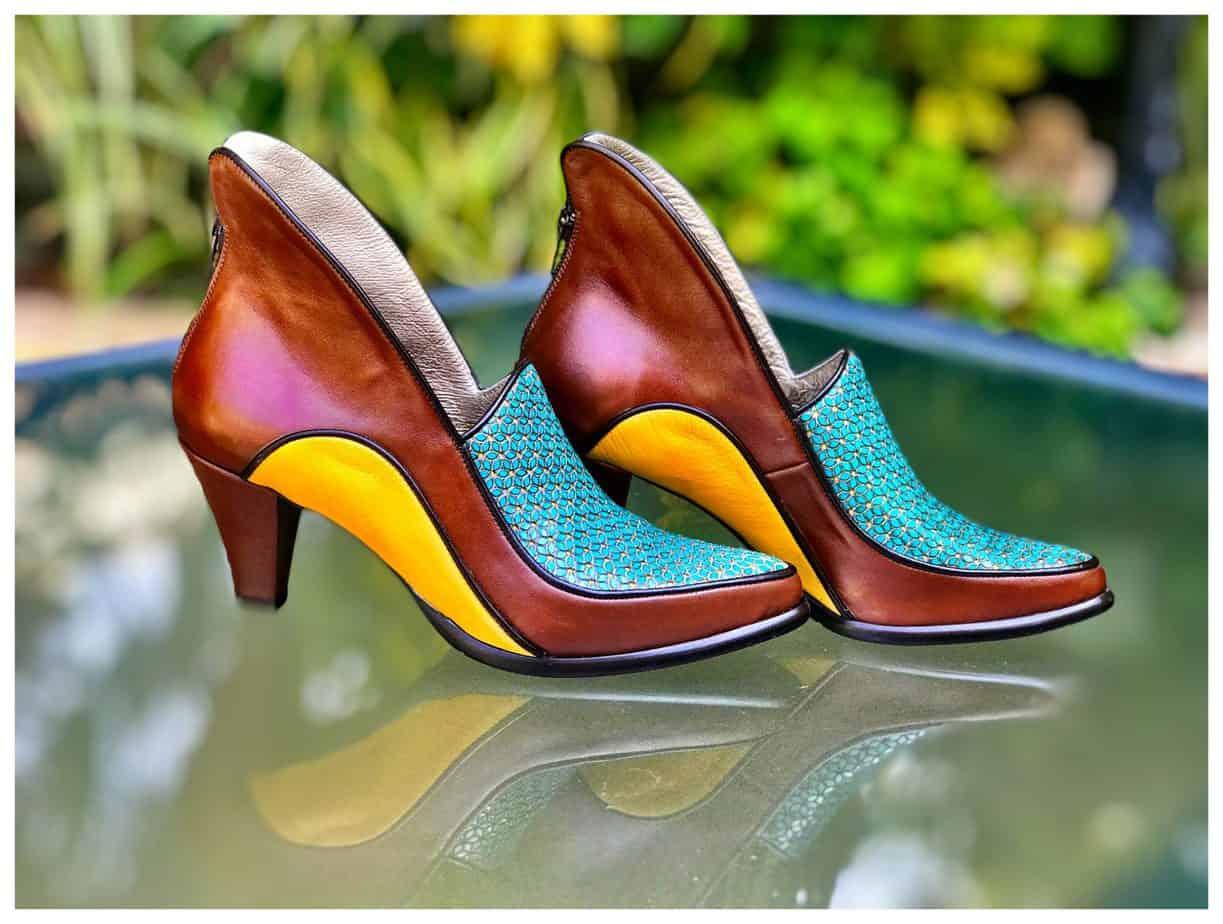 נעליים של מיקה דרימר. בתמונה Mika Drimer - Artistic Shoes. צילום: מיקה דרימר - 3
