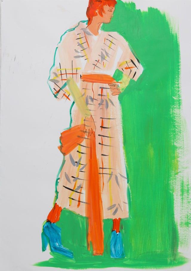 EFIFO מגזין אופנה. תערוכת איורי אופנה של מימי זיו בשנקר-4