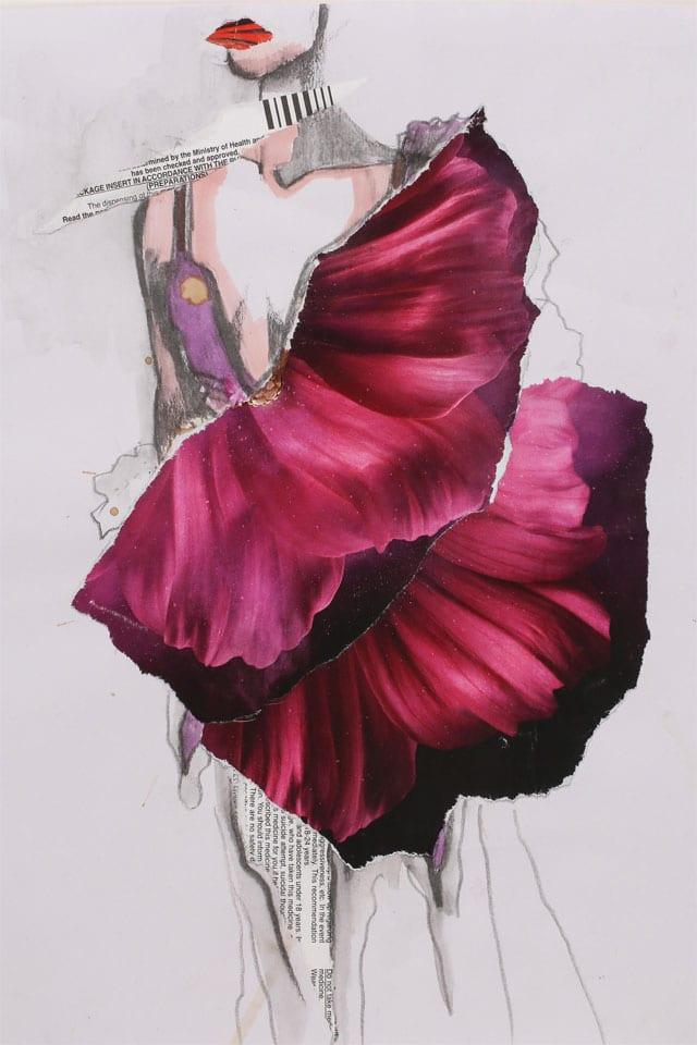 EFIFO מגזין אופנה. תערוכת איורי אופנה של מימי זיו בשנקר-6