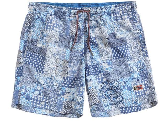 בגד ים מכנס לגבר, efifo, אופנה, אופנה לגבר, אתר אופנה. בגד ים לגבר של NAPAPIJIRI. צילום: יח״צ חו״ל - 2