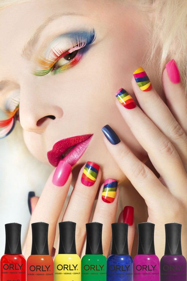 efifo, צבעי גאווה, pride, מצעד הגאווה, גאווה 2017, אתר אופנה, לקים צבעוניים בצבעי דגל הגאווה, לק בצבעי גאווה -1