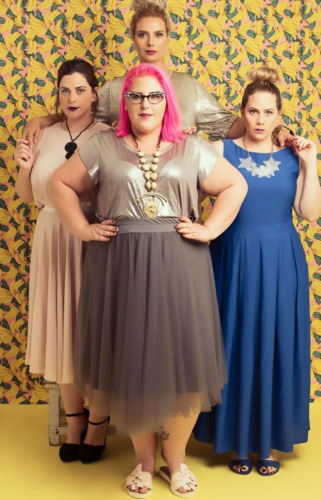 שבוע האופנה למידות גדולת 2017. שמלות למידות גדולות שמלות פלאס סייז, שמלות ערב, efifo, אתר אופנה - 2