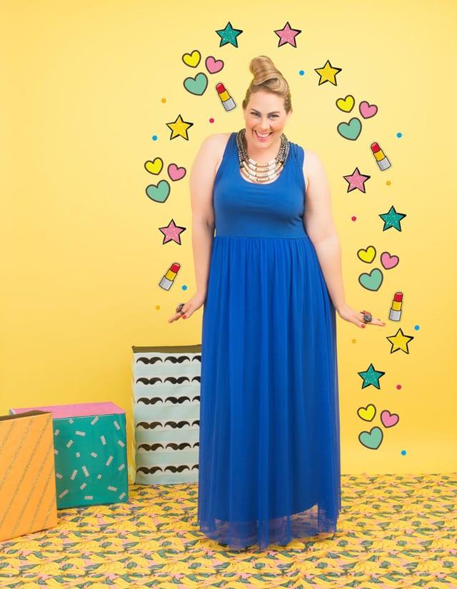 שבוע האופנה למידות גדולת 2017. שמלות למידות גדולות שמלות פלאס סייז, שמלות ערב, efifo, אתר אופנה - 3