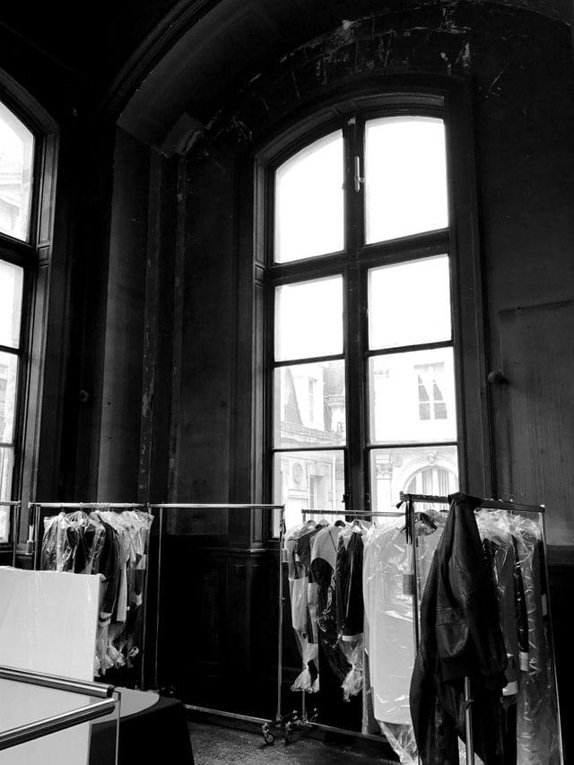 אלון ליבנה שבוע האופנה פריז אוקטובר 2016
