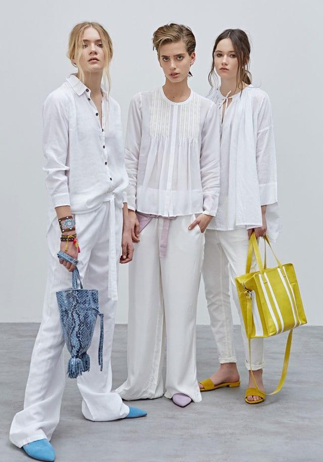 Sack's, efifo, חולצה לבנה, מכנסיים לבנים