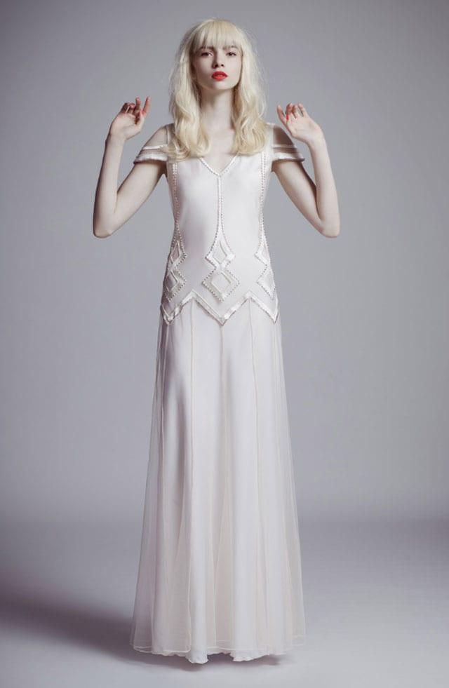 שמלת כלה של גדי אלימלך. קולקציית קוטור 2017. צילום: יח״צ