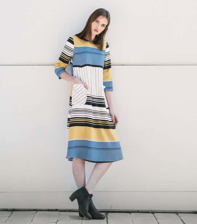 בתמונה: שמלה של Sheek.Me. צילום: יח״צ