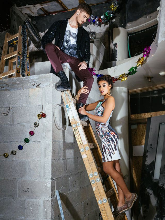 מגזין אופנה: עדן סבן חוגגת סילבסטר באח הגדול, צילום: Michael Shapochnic&Rafael Levy-7
