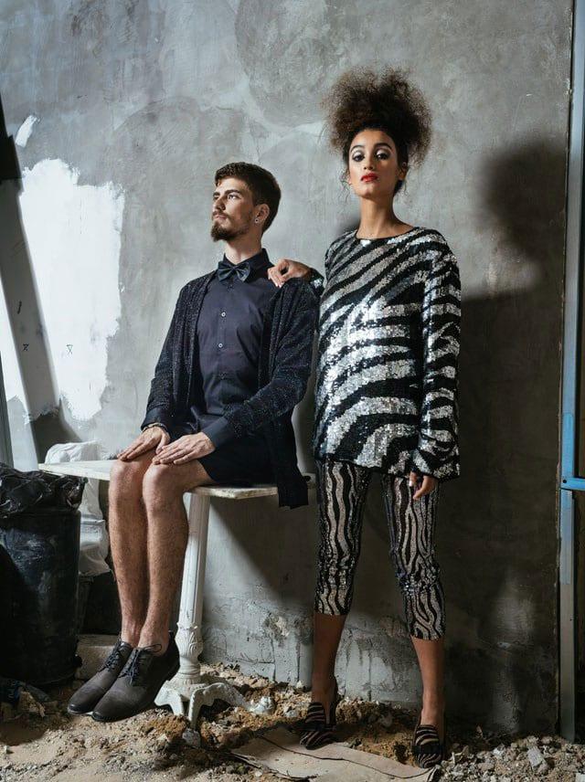מגזין אופנה: עדן סבן חוגגת סילבסטר באח הגדול, צילום: Michael Shapochnic&Rafael Levy-2