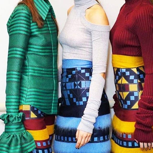 מגזין אופנה, ארגמן בפרנץ' כפול