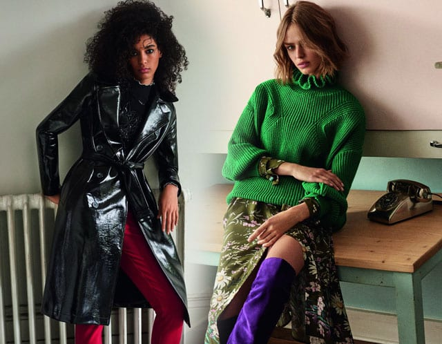 בתמונה: אופנה - TOPSHOP. קולקציית סתיו חורף 2017-18. צילום: יח״צ חו״ל -2