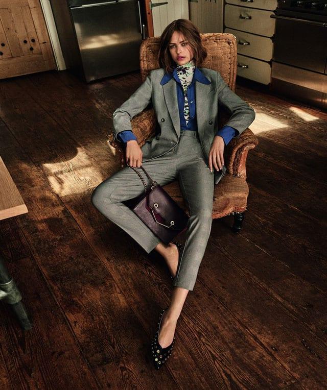 בתמונה: אופנה - TOPSHOP. קולקציית סתיו חורף 2017-18. צילום: יח״צ חו״ל -