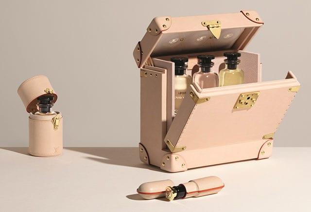 לואי ויטון. תיקי נסיעה מעור של לואי ויטון עבור סדרת בשמי לואי ויטון. לואי ויטון, fashion, efifo, אופנה, אתר אופנה