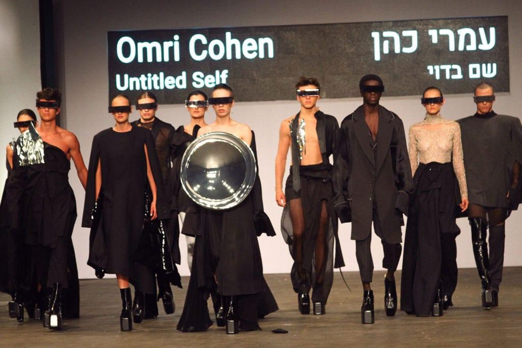 בתמונה: תצוגת אופנה של בוגר שנקר 2017. צילום: עומר רביבי -