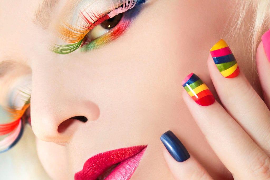 efifo, צבעי גאווה, pride, מצעד הגאווה, גאווה 2017, אתר אופנה, לקים הצבעוניים בצבעי דגל הגאווה - 1