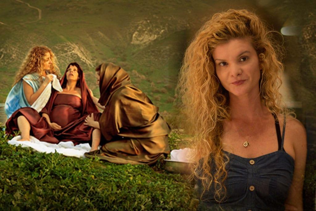 דקלה לאור - צלמת ואמנית תערוכת ״נשים בתנ״ך בנופי הגולן״. צילום: יח״צ