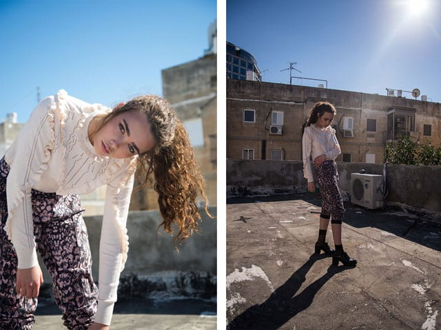 FASHION MAGAZINE: My roof dressed for winter. Photography: Hila Kadi7