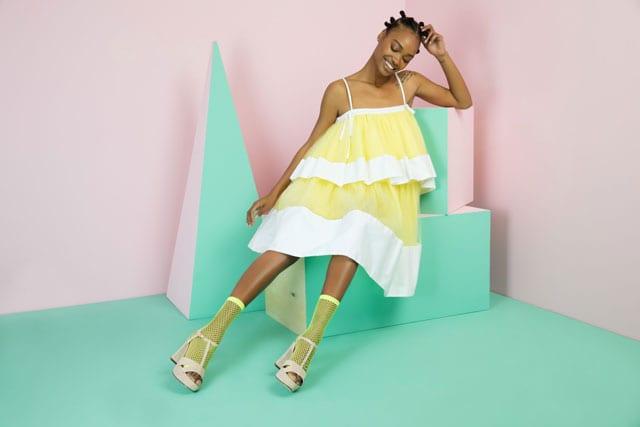 נעלי נשף פרום של WE SHOES. צילום שי יחזקאל - נעליים לנשף פרום, נעלי נשים, נעליים לאשה, נעלי פלטפורה צהובות עם רשת לנשים, נעלי נשף פרום של WE SHOES. צילום שי יחזקאל, אתר אופנה, prom, efifo, fashion, אופנה, פרום, נשף פרום