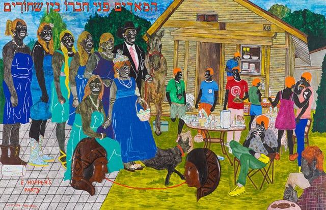 מגזין אמנות. מוזיאון תל אביב לאמנות: ״אני ציירים״. תערוכה חדשה ליאיר גרבוז-1