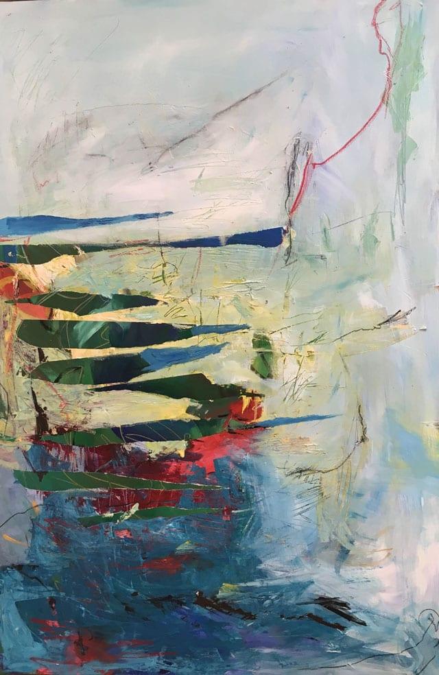 בצילום: ציור של אורנה קלי. צילום: יח״צ - 2