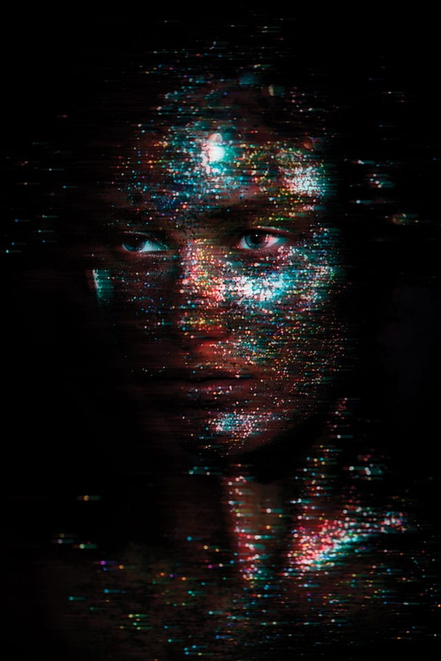 בתמונה: מתוך TEXTURES - תערוכה משותפת להילה אלקיים (צילום ואיפור) וירין שחף (איפור וארט)-2