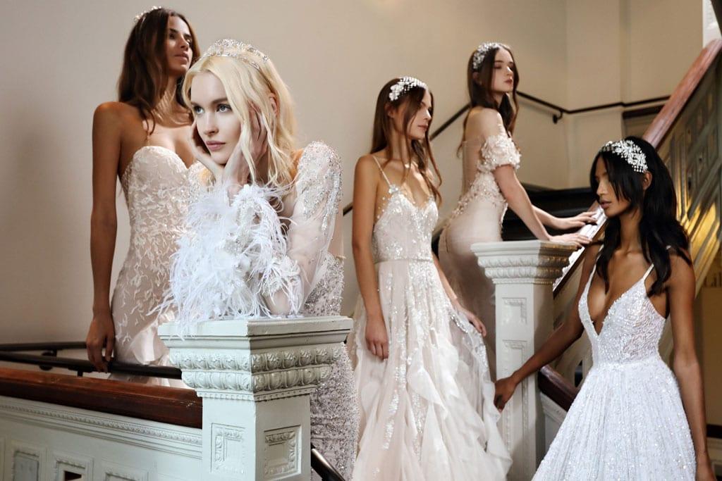בתמונה: Inbal Dror Bride Dress. שמלות כלה של ענבל דרור. צילום: אייל נבו. צילום: אייל נבו -