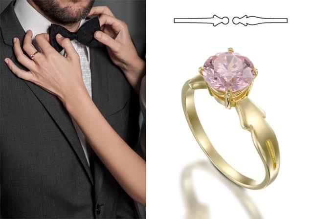 """טבעת סמדר. צילום: יח""""צ"""