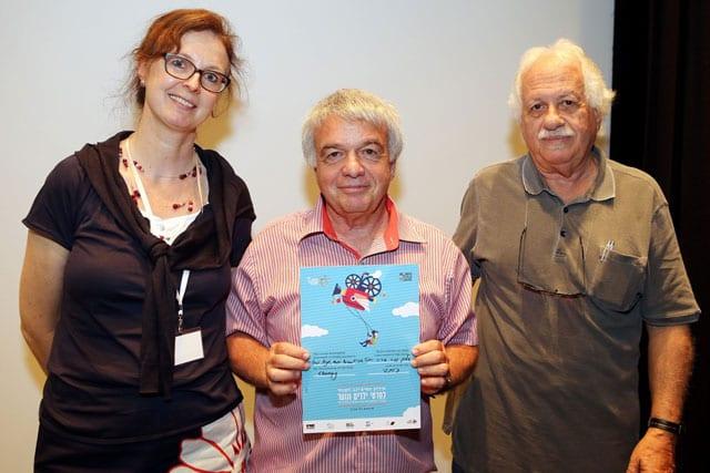 ארוע הפיצ'ינג אמש במסגרת פסטיבל תל אביב הבינלאומי לסרטי ילדים ונוער