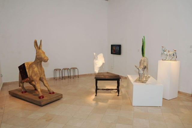 שיח גלריה וסיור בתערוכה עם המוזיקאי דויד פרץ-1