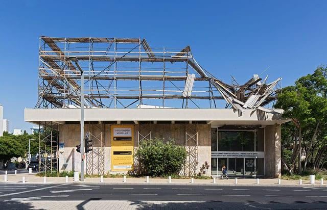 ביתן הלנה רובינשטיין לאמנות בת זמננו: סביבות עבודה