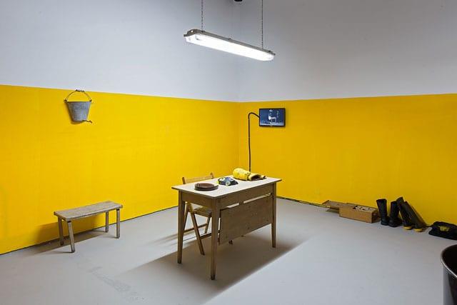 ביתן הלנה רובינשטיין לאמנות בת זמננו: סביבות עבודה-4