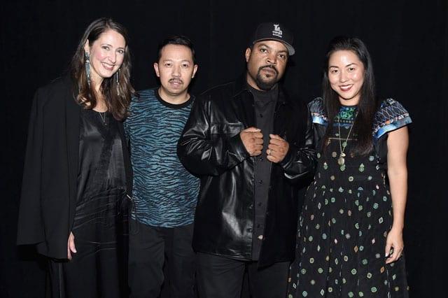 הושקה קולקציית KENZO x H&M באירוע נוצץ שכלל הופעה של הראפר Ice Cube6