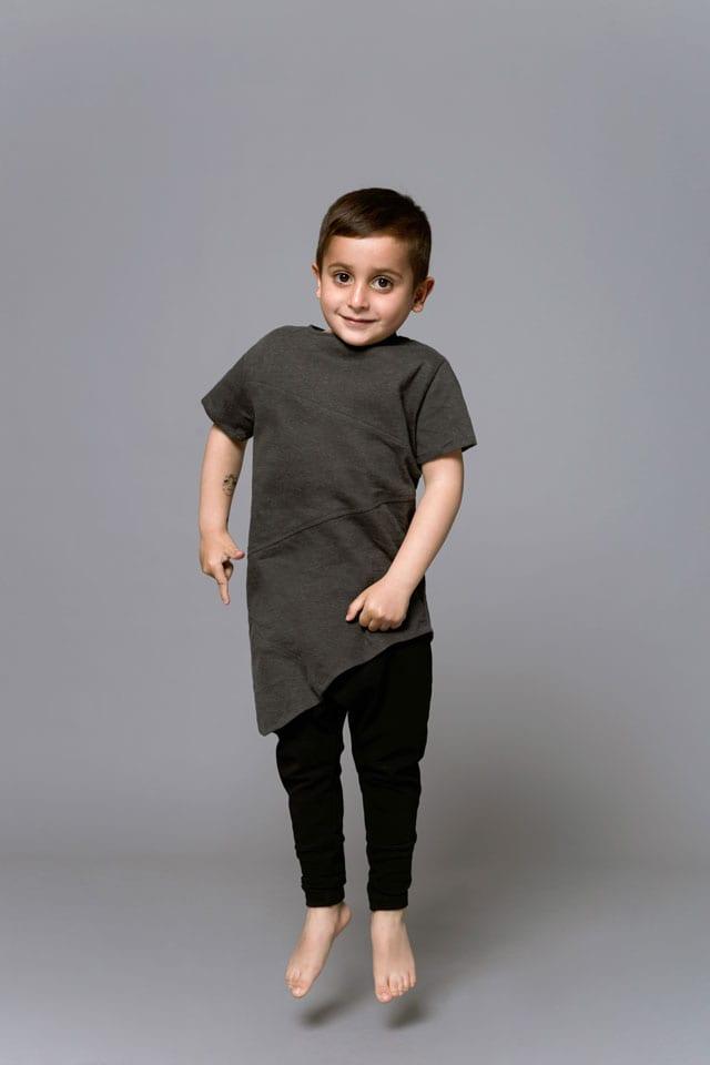 בצילום: קולקציית Black-L. של מעצבת האופנה לילך עוזי אהרוני. צילום: קרן שאוס-2