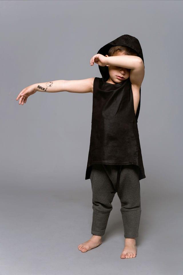 בתמונה: קולקציית Black-L. של מעצבת האופנה לילך עוזי אהרוני. צילום: קרן שאוס-1
