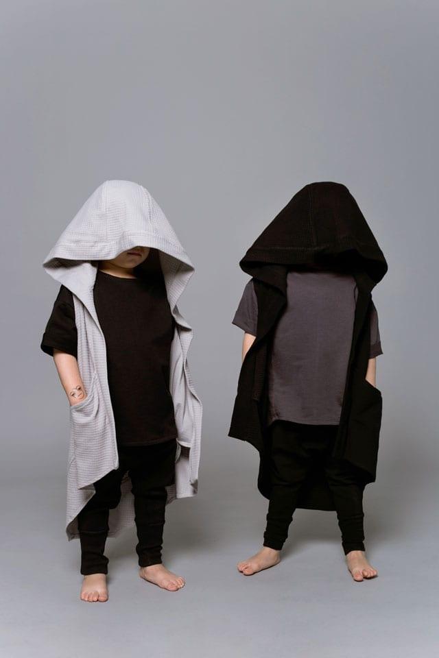 בצילום: קולקציית Black-L. של מעצבת האופנה לילך עוזי אהרוני. צילום: קרן שאוס